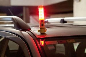 Gadżety reklamowe - latarka bezpieczeństwa dla kierowcy
